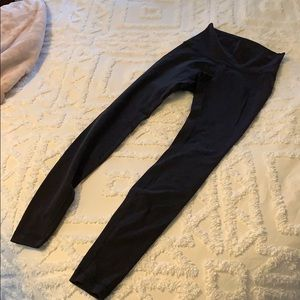 Black Lululemon High Rise Leggings